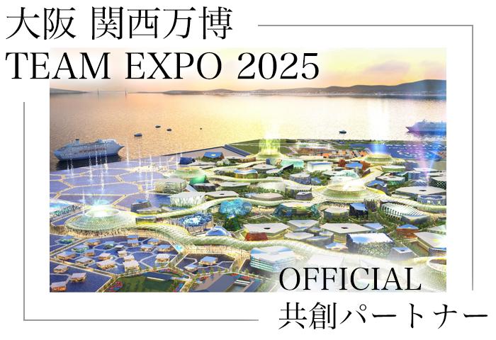 パラレルキャリア推進委員会は TEAM EXPO 2025 の共創パートナーです
